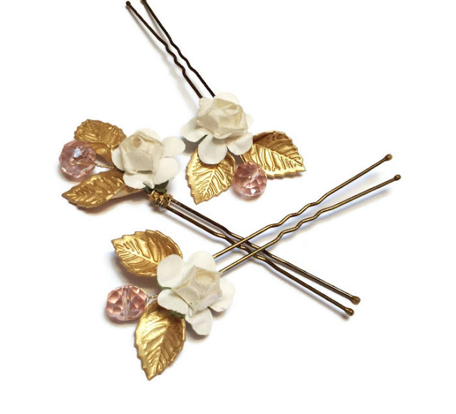 Horquillas Novia · Bridal Hair Pins