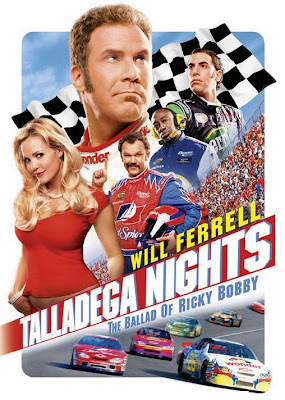Poster Of Talladega Nights (2006) In Hindi English Dual Audio 300MB Compressed Small Size Pc Movie Free Download Only At worldfree4u.com