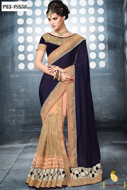 Latest Cheap Price Party Wear Saree Online Collection In India | Women Clothing Online Store