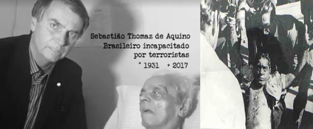 Faleceu Sebastião Thomaz de Aquino, Guarda Civil vitima da esquerda que teve sua perna amputada por explosão de bomba no aeroporto de Guararapes (PE) em 1966