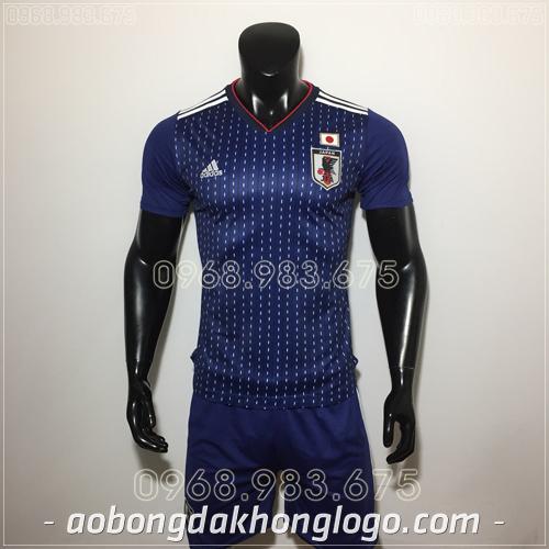 Áo Bóng Đá Đội Tuyển Nhật Bản Xanh 2019
