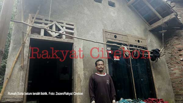 pemkab cirebon diminta pasang listrik di rumah warga miskin