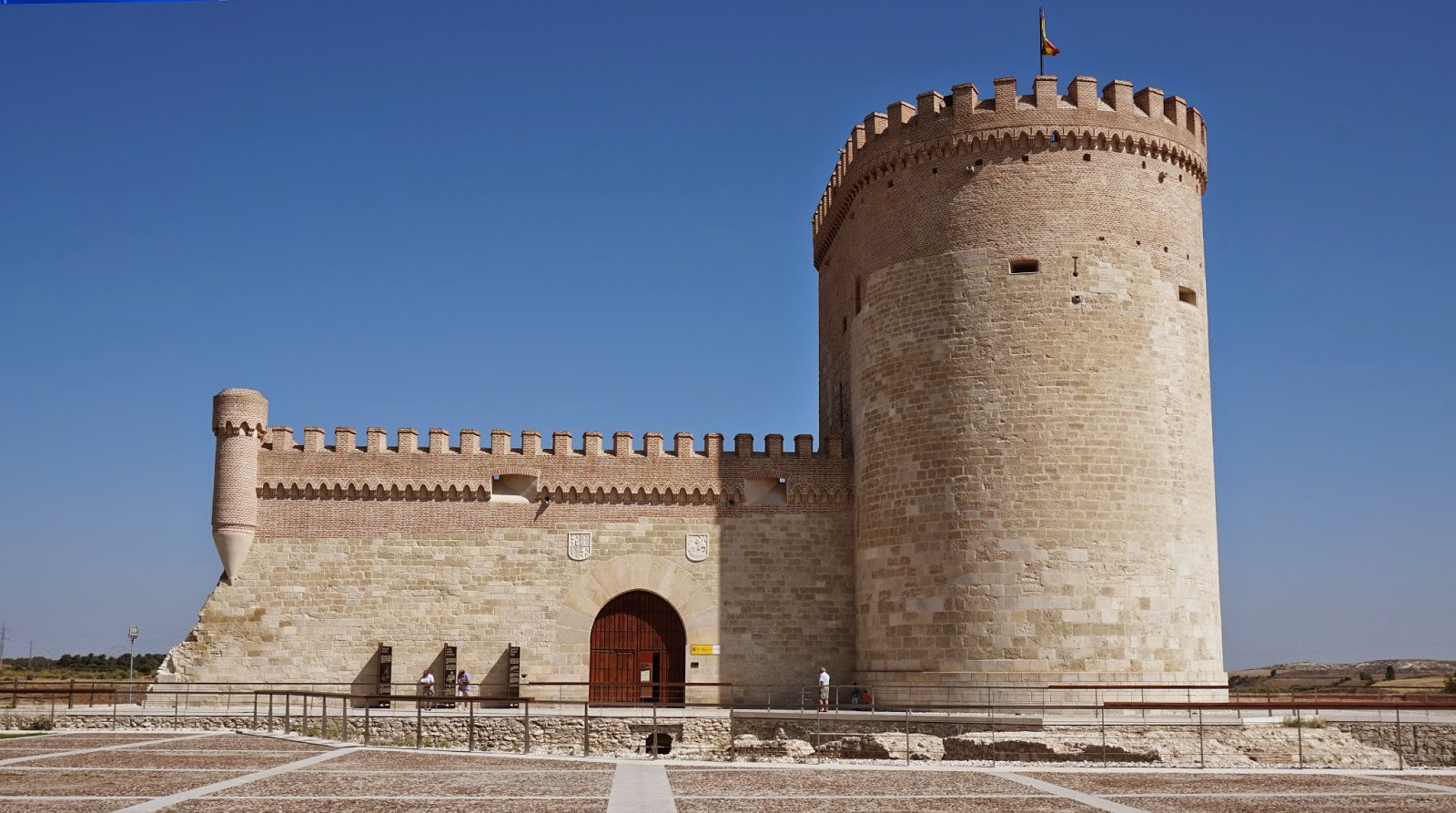 Exterior del castillo de Arévalo