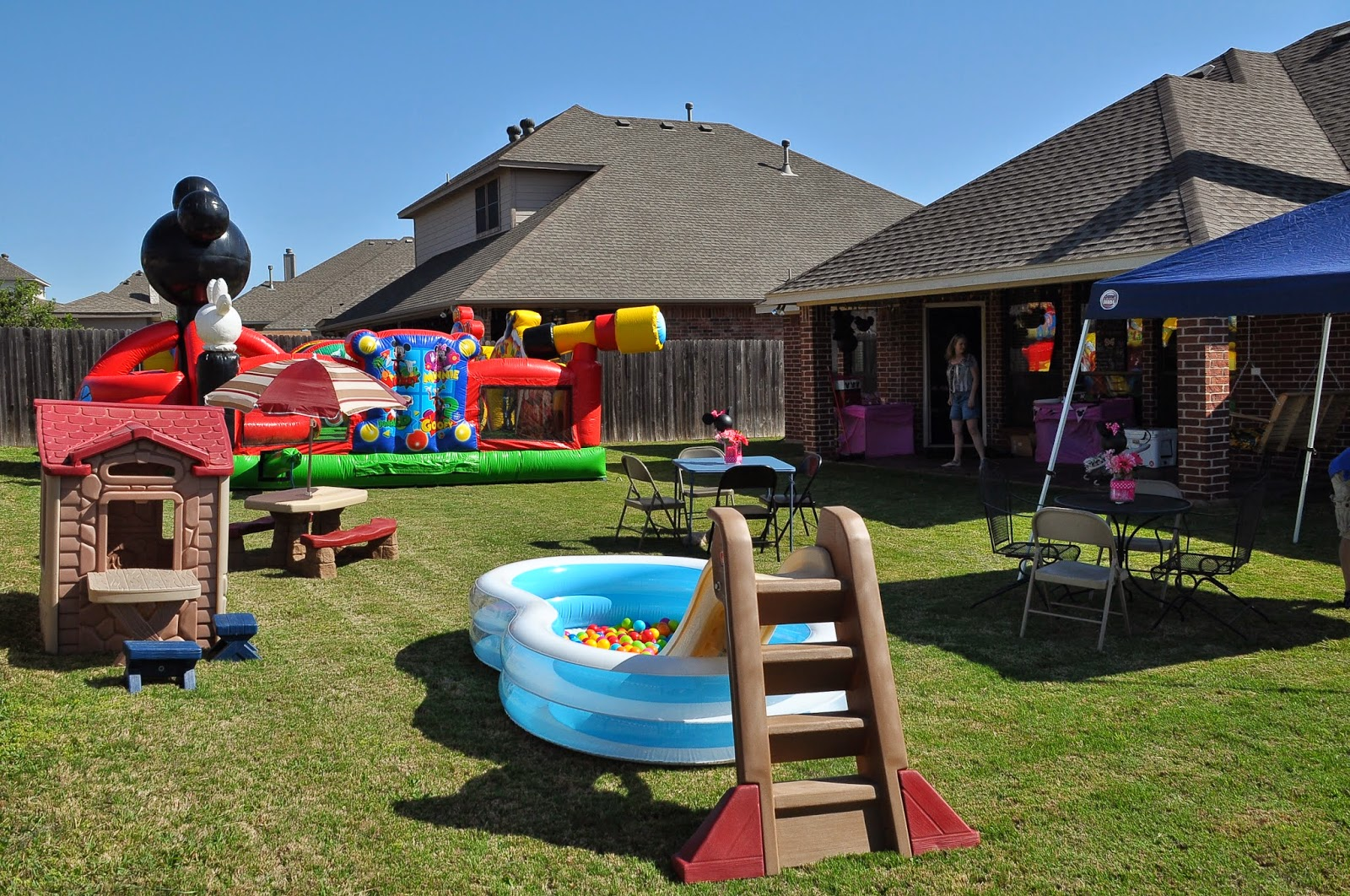 Keeping Up With The Morgans: Callie's Minnie Birthday Party