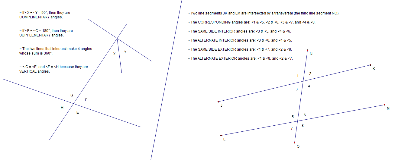 Extra Problems for Extra Points: Week 9: Congruent Angles