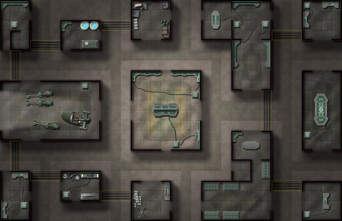 Dungeon Floor Plans The Adventurers Atlas Armored Cartographers Sci Fi