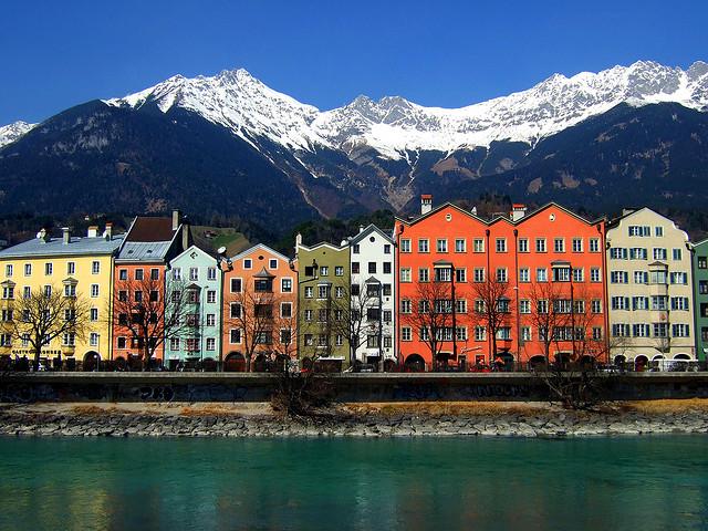 Maria Theresien Street, Innsbruck, Austria
