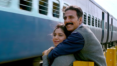 Akshay Kumar & Bhumi Pednekar Background HD Image