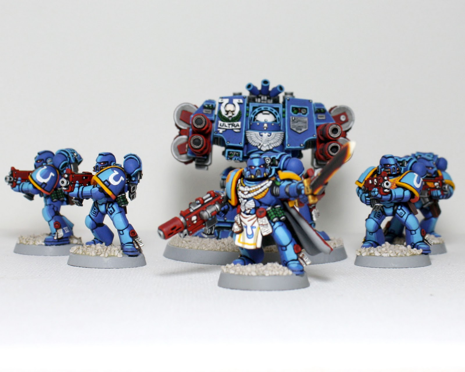 Ultramarines Army The 40k Hobbies...