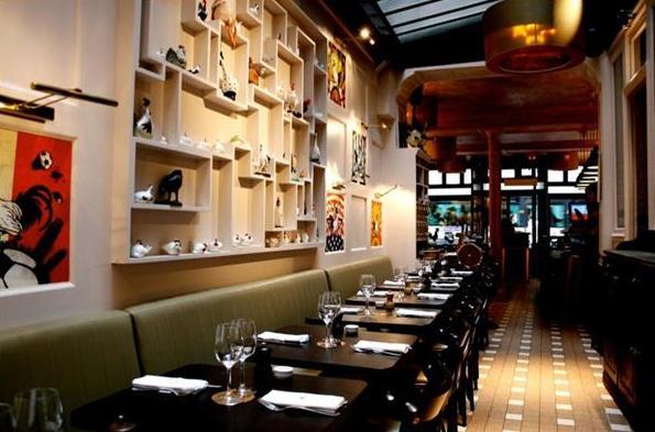 Restaurante Le Fous de L'Ile em Paris