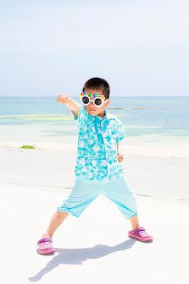 沖縄 ビーチ 熱中症