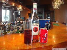 Brandy com coca-cola