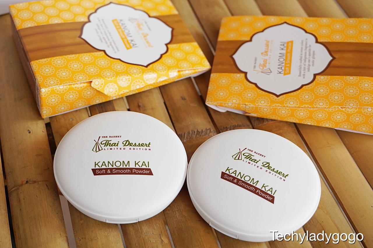 เมคอัพขนมไทย หอมหวาน น่ารัก น่าใช้ น่ากิน THE BAKERY Thai Dessert Limited Edition by Beauty Buffet  รีวิว แป้งขนมไข่