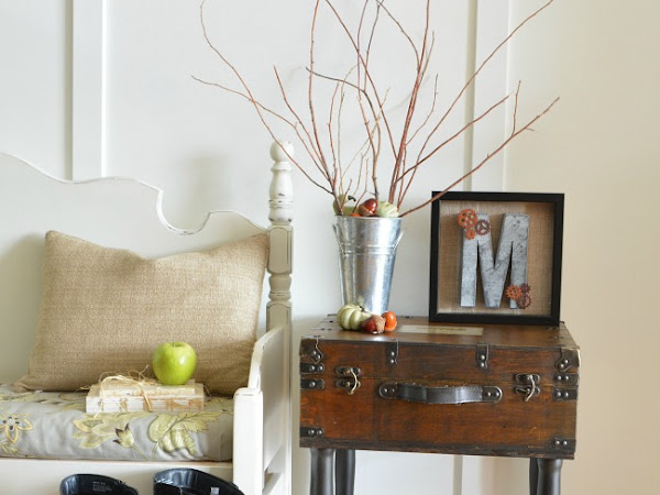 How To Turn A Wooden Case Into A Rustic Trunk Table