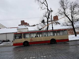 Trolley bus Vilnius