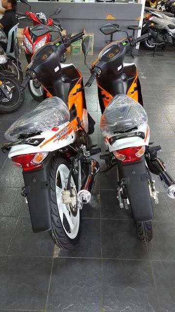 Modenas Dinamik 120 2017 Dengan Warna Oren Baru Menyerlah