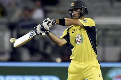Glenn  Maxwell  Scored a Brilliant 66 in 29 Balls Thant Set Australia Winning 2nd T-20 Also Against Sri Lanka