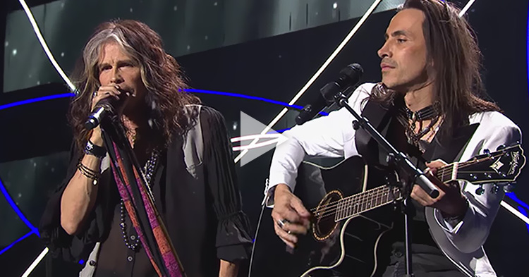 "Steven Tyler and Nuno Bettencourt's cover of ""More Than Words"" is simply epic"