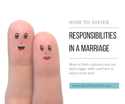 How to Divide Responsibilities in a Marriage