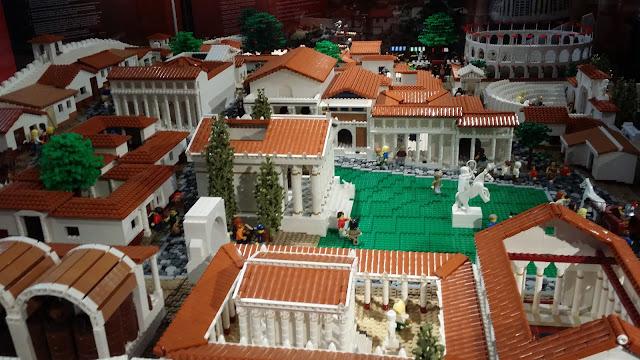 The University of Sydney's Lego Pompeii