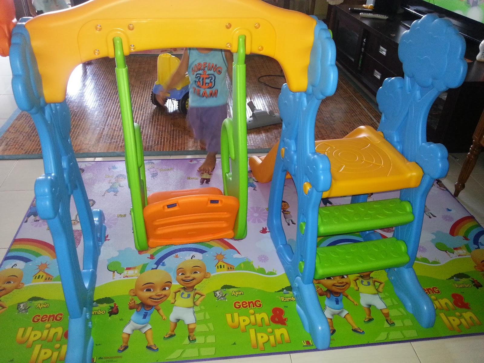 New Grow N Up First Steps Scramble N Slide