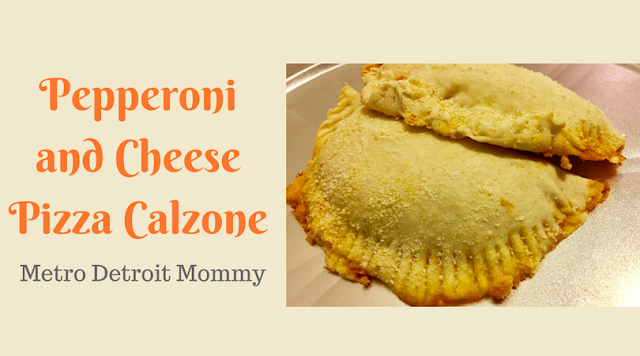 Try this delicious Pepperoni and Cheese Calzone Recipe