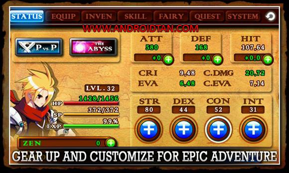 Fitur Zenonia 4 Mod Apk Free Download