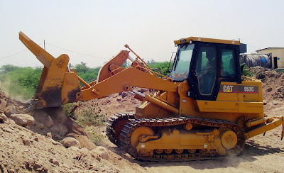 Consideration of Tracked or Tired Machinery in Excavating and Earthmoving