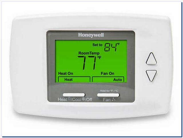 Honeywell Thermostat Heat Cool Auto