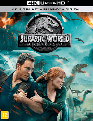 Filme Jurassic World - Reino Ameaçado 4K 2018 Torrent