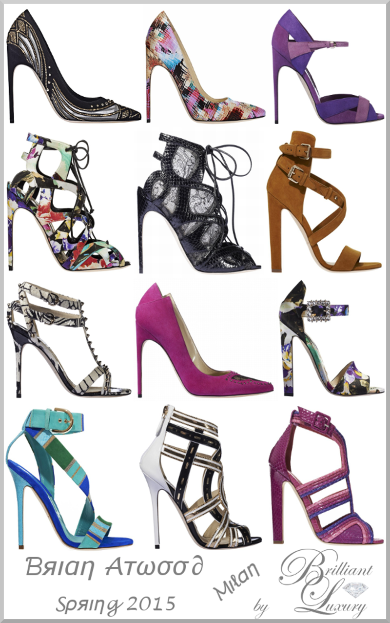 Brilliant Luxury ♦ Brian Atwood #shoes