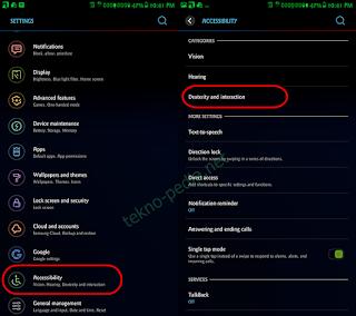 Cara Menggunakan Assistant Menu Samsung Tanpa Aplikasi