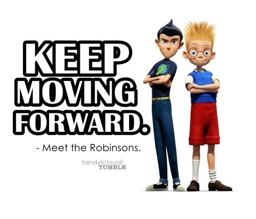 b and advert keep moving forward meet