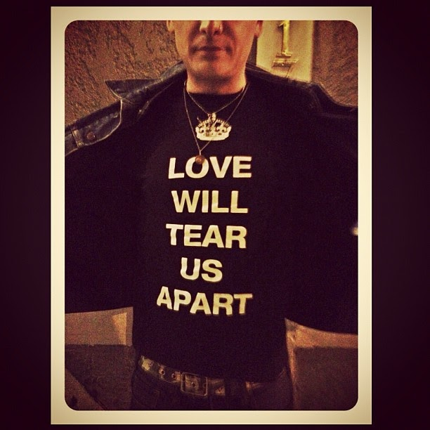 Left Tearing Us Apart: Kat Von D's Blog: Love Will Tear Us Apart. Matt Skiba