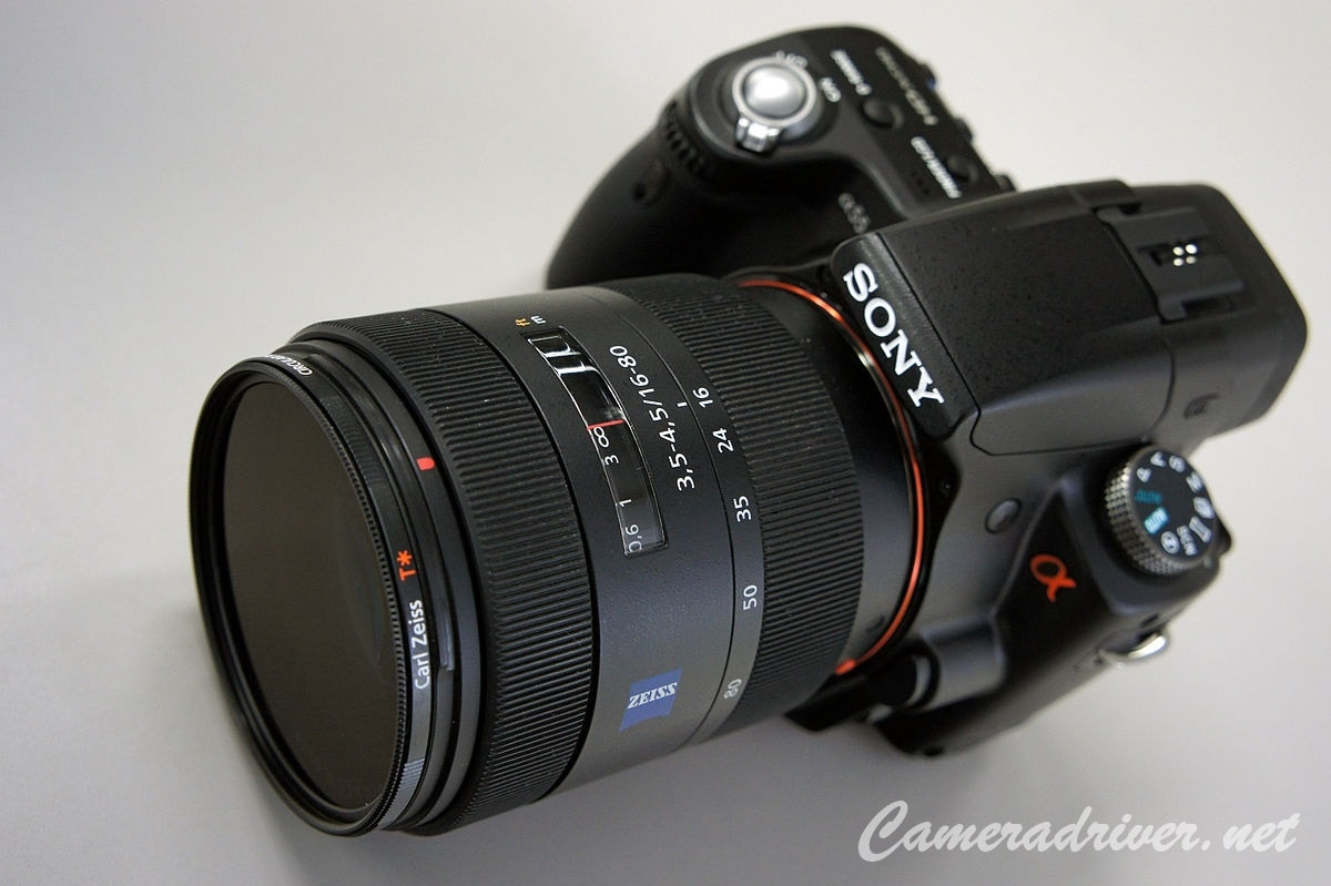 Sony DSLR Camera A55 Software and Firmware Download