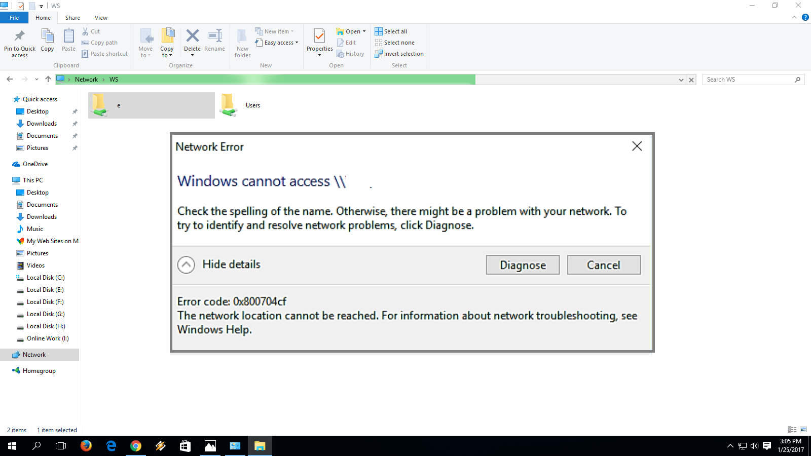 Learn New Things: How to Fix Network Error Windows Cannot