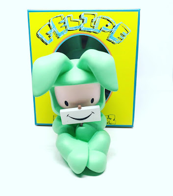 Designer Con 2016 Exclusive Smile OG Edition Vinyl Figure by Juan Muniz x 3DRetro