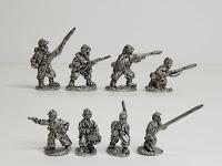 ACW19 Zouaves in kepi, standing/firing