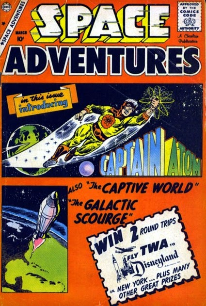 Space Adventures #33, Captain Atom, Charlton Comics