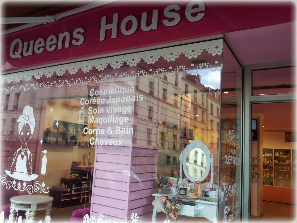 Queen's House : La boutique de cosmétiques asiatiques à Paris.