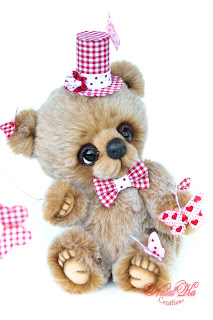 Artist teddy bear, artist bear, artist teddy, ooak bear, one of a kind, teddies with charm, NatalKa Creations, teddies, collectible teddy bear, collectable bear, mohair bear, Künstlerbär, Teddybär, Teddy, Unikat, авторский медведь, медвежонок тедди, авторский мишка тедди, медведь тедди, тедди мишка, тедди с шармом
