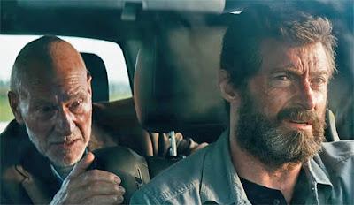 Logan Movie Image Patrick Stewart and Hugh Jackman