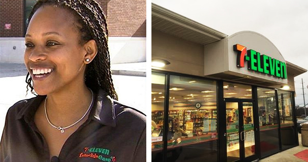 Alyson Rae Lawson, owner of two 7-Eleven stores with gas stations