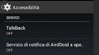 Opzioni utili del menu Accessibilità di Android