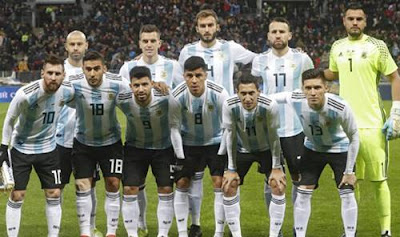 Daftar Pemain Timnas Argentina