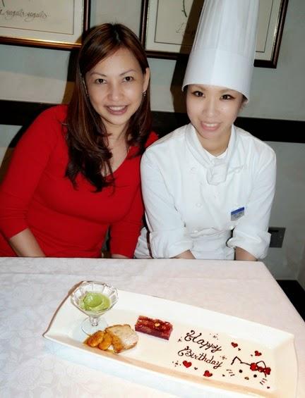 keio plaza duo fourchettes pastry chef izumi hinata