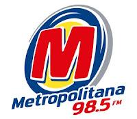 Rádio Metropolitana FM 98,5 de São Paulo SP