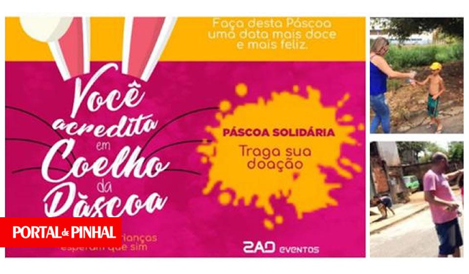 Amigos reúnem doações para 'Páscoa Solidária' em Espírito Santo do Pinhal