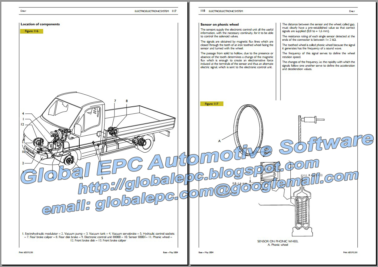 iveco daily 20002006 repair manual wiring diagrams wire center u2022 rh abetter pw
