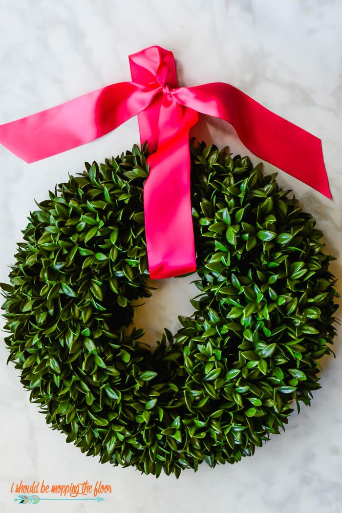 Pink Valentine Wreath